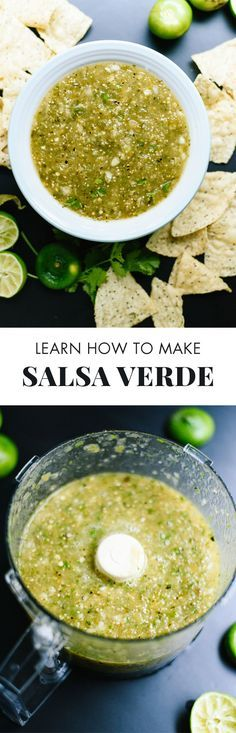 This homemade salsa verde recipe is so good, you'll never want the jarred kind again!