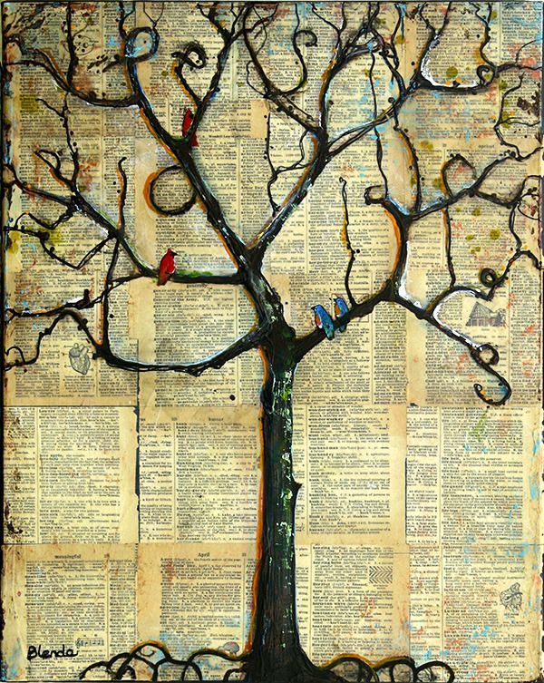 42 best Tree of Life Art images on Pinterest | Original paintings ...
