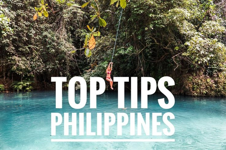 TOP TIPS for the PHILIPPINES! Read it now on our blog! SEEKSEETRAVEL.COM