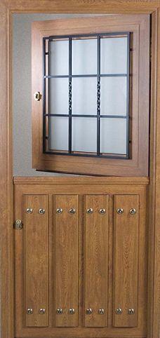 Las 25 mejores ideas sobre puerta ventana de aluminio en pinterest canceles de aluminio - Puertas de madera exterior rusticas ...