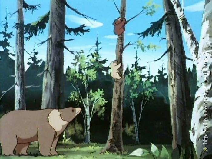 Dessin animé télé BOUBA, LE PETIT OURSON