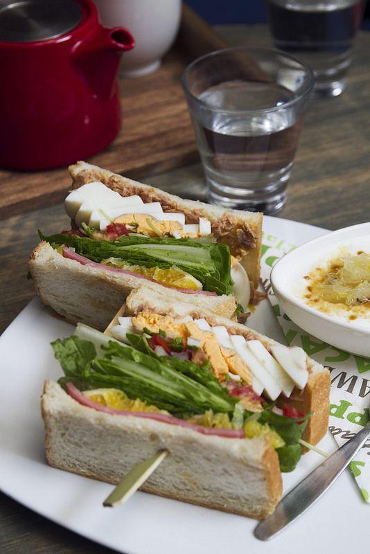 Orange Tuna Egg Sandwich Noms Egg Sandwiches Tuna Sandwiches