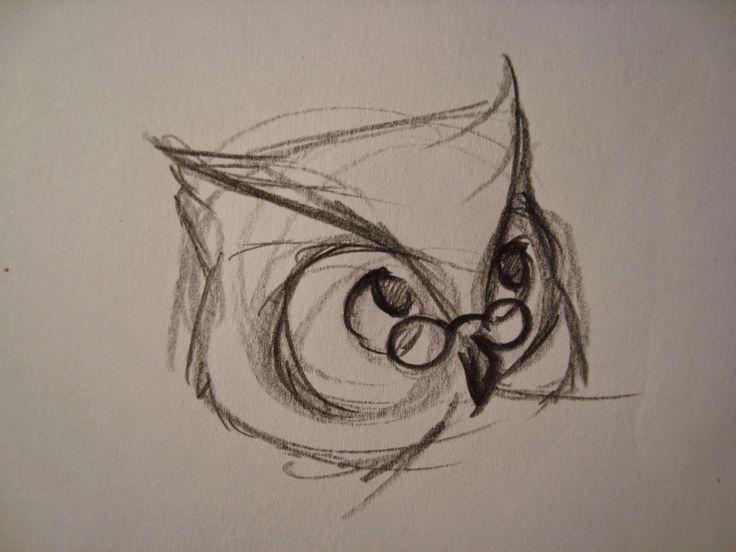 Owl concept. threefootgiraffe.blogspot.co.nz