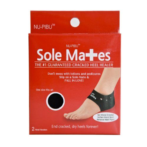 Sole Mates - Cracked Heel Healers!! You can begin healing painful cracks and rough, dry heels instantly! Don't mess with lotions and pedicures-- heal your cracked skin naturally from the inside out! NU-PIBU http://www.amazon.com/dp/B00IR2I6FE/ref=cm_sw_r_pi_dp_Slmvvb1V2XRB4