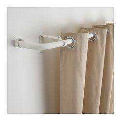 IKEA - HUGAD, Combinazione bastoni tenda bovindo, Gli angoli si possono regolare per adattarsi al tuo bovindo.La lunghezza di ciascun bastone per tenda è regolabile da 120 cm a 210 cm.