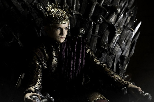 """Jack Gleeson as Joffrey Baratheon in """"Game of Thrones."""" Such an ass..but he plays the part well!"""