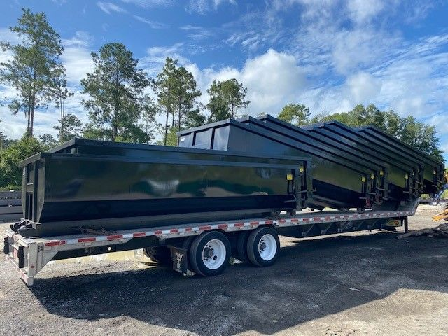 Roll Off Dumpsters For Sale In Mobile Alabama Cedar Manufacturing In 2020 Dumpsters Roll Off Dumpster Mobile Alabama