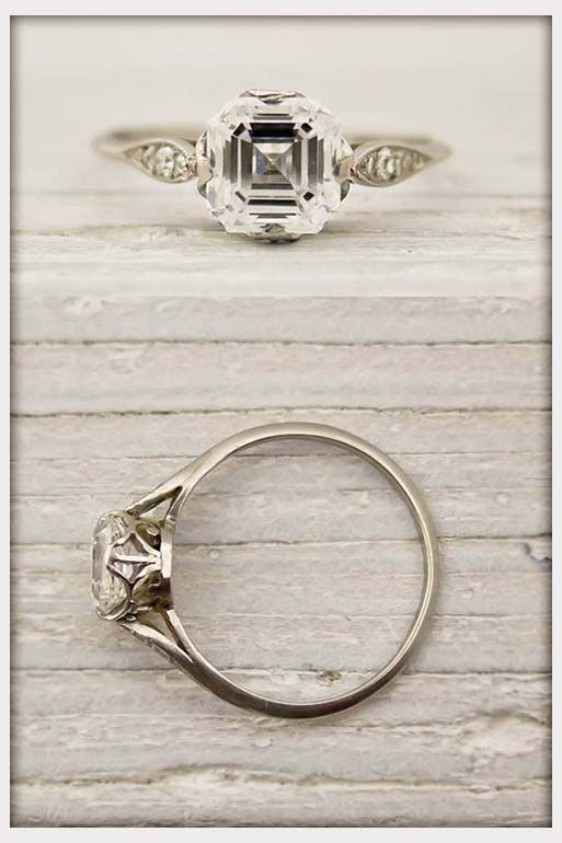 Jewelry, Antique Tiffany Co Engagement Rings: Vintage Tiffany Engagement Rings for Simple and Elegant Look