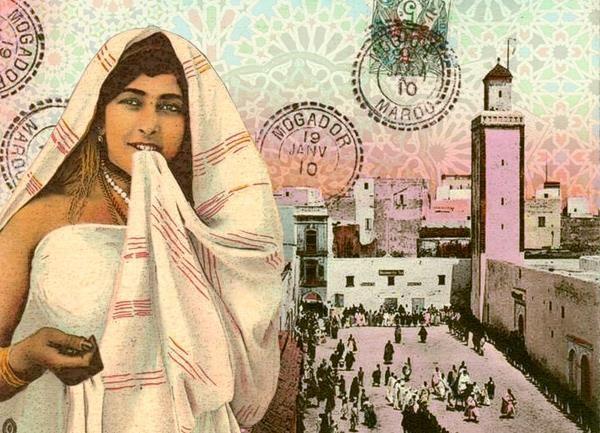 *Pop Maroc* - graphic art by Laura Li