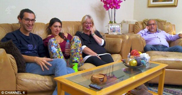 Jealous? The Gogglebox families (pictured the Michaels') were branded 'fuming' and 'jealou...