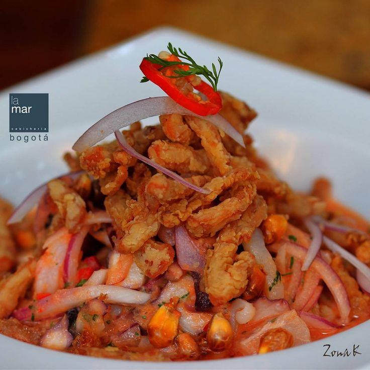 #zonakbogota #zonak #usaquen #cebicherialamar #restaurantelamar La Mar Cebicheria de Peru. Un lugar donde celebramos y compartimos la vida, el mar, la naturaleza, la cultura y la amistad a través de la cocina peruana marina