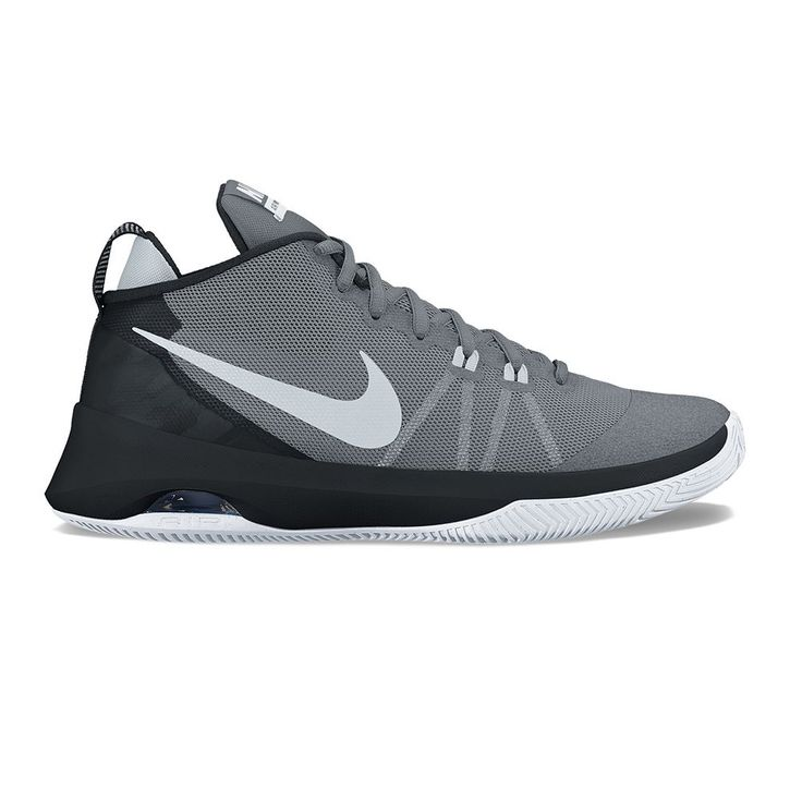 Nike Air Versitile Men's Basketball Shoes, Size: 10.5, Grey (Charcoal)