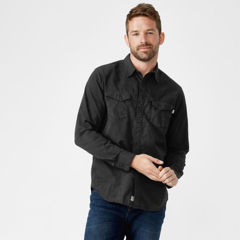 Shop Timberland for men's twill cargo shirts: Essential shirts any guy can wear.