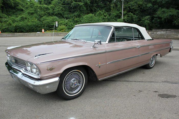 Classic 1963 Ford Galaxie 500xl For Sale 2182479 34 950 Pittsburgh Pennsylvania 1963 Galaxie Xl 500 Convertible 39 Ford Galaxie Galaxie Old Classic Cars