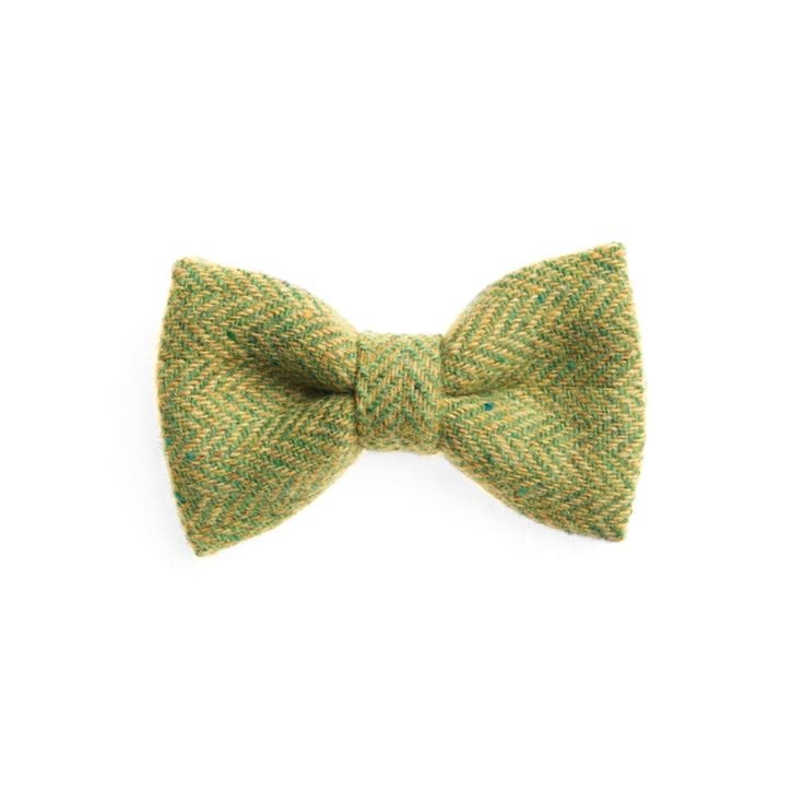 """Lime Tree"" Donegal #Tweed  #Bowtie. FREE Worldwide Shipping!"