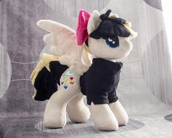 Plush Songbird Serenade Custom Pony Sia My Little Pony Etsy My Little Pony Pony Chibi