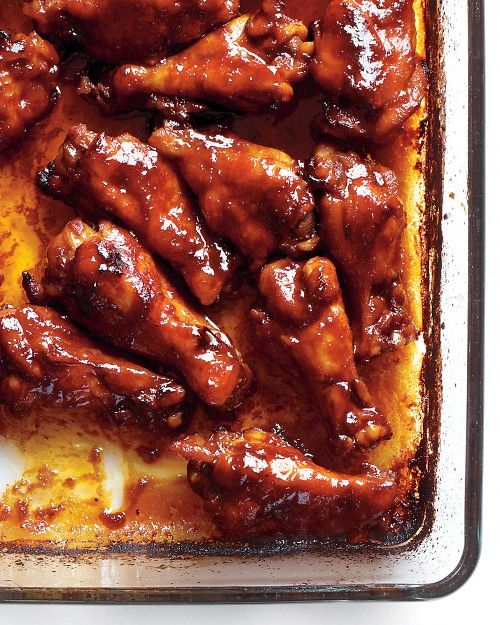 Sriracha-Glazed Chicken. One of my family's favorite meals. I use ...