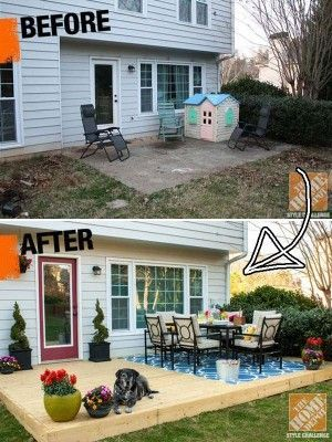 19 Simple and Low-Budget Ideas for Building a Floating Deck | WooHome