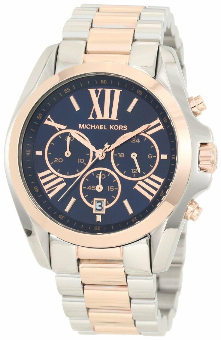 #MichaelKors Michael Kors - Mid-Size #Bradshaw #Chronograph #Watch, Silver
