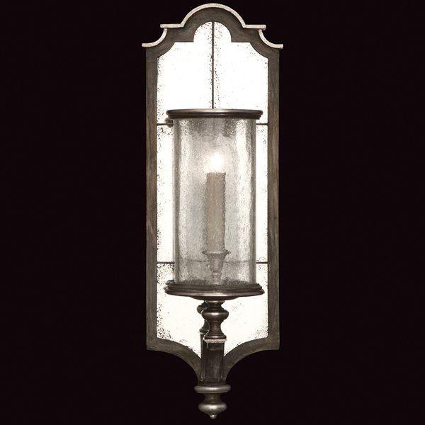 Villa Vista 1 Light Candle Wall Light Fine Art Lamps Wall Lights Sconces