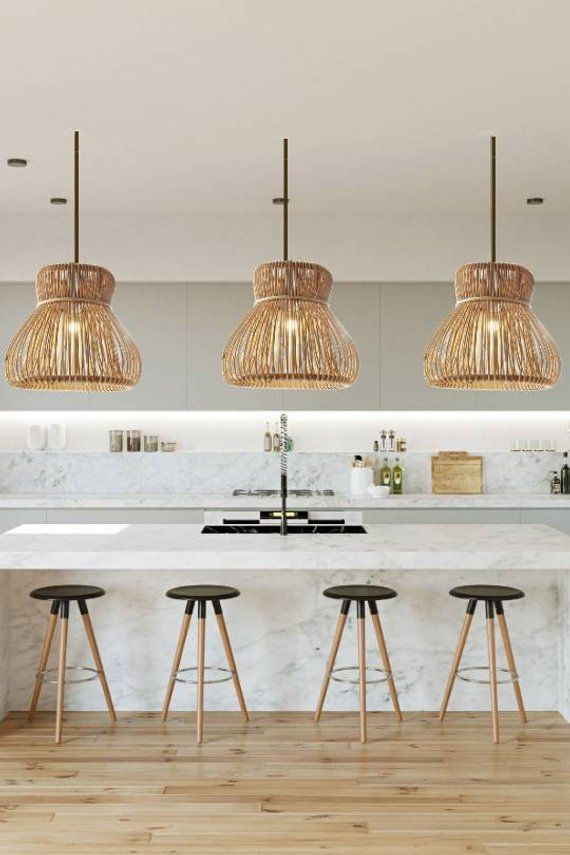 Rattan Pendant Lights Coastal Pendant Lighting Rattan