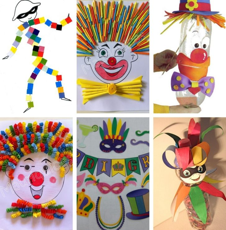 Manualidades de Carnaval para Niños
