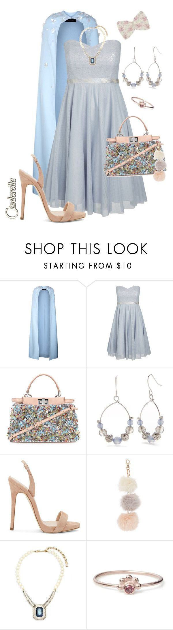 """Embellished Bag 💎👛👑"" by krgood7 ❤ liked on Polyvore featuring Safiyaa, City Chic, Fendi, Kim Rogers, Giuseppe Zanotti, Heidi Daus, Maro and plus size dresses"