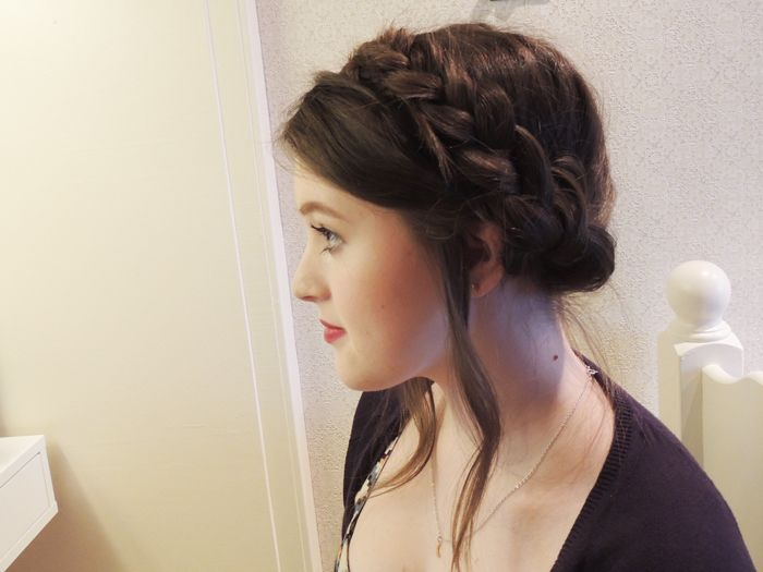 Teen Wolf's Lydia Martin braided updo tutorial by Emiloue.