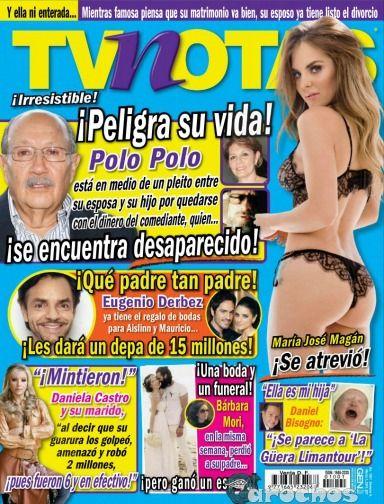 María José Magán - Revista TvNotas No. 1001 - PDF 1080p