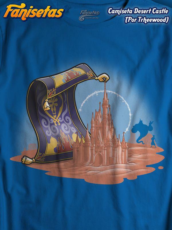 Comprar Camiseta Desert castle Camisetas Trheewood