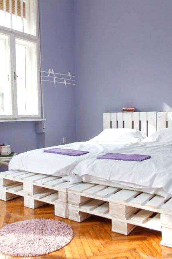 Functional Pallet Style Bedroom Furnishing Plans For You To Update