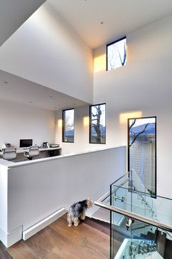 Modern Office Under Staircase Design Ideas, Pictures, Remodel and Decor