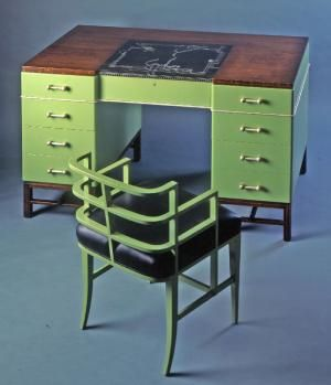 Best Art Deco Images On Pinterest Art Deco Art Art Deco - Art deco furniture designers desks