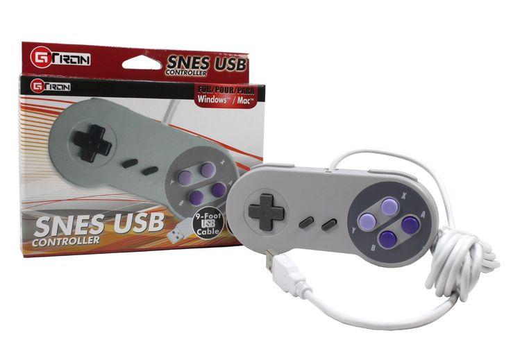 Amazon.com: Classic USB Super Nintendo Controller for PC: Video Games