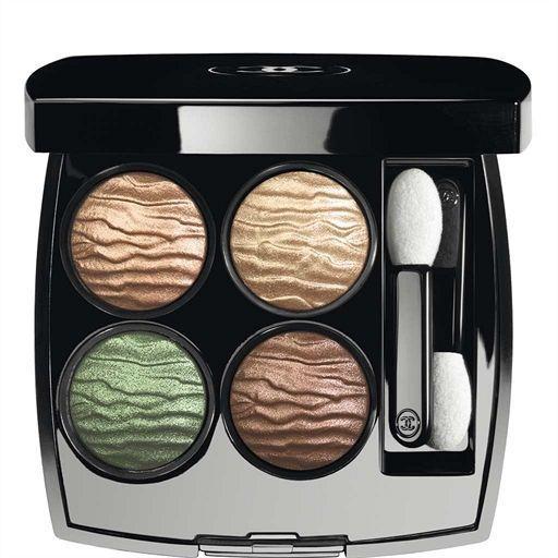 20 eyeshadow palettes for Spring 2016. Chanel Les 4 Ombres Multi-Effect Quadra Eyeshadow in Empreinte du Desert