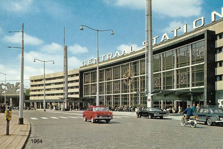 Rotterdam Central Station, 1964 #architecture #rotterdam