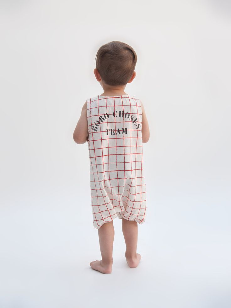Bobo Choses SS17 Net Romper Designer Baby Clothes Tiny ...