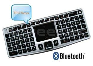Mini Bluetooth 3.0 Wireless Keyboard with Receiver and DPI Adjustable Touchpad (ZW-51007BT-Silver) (ZW-51007BT-Silver) - China Mini Bluet...
