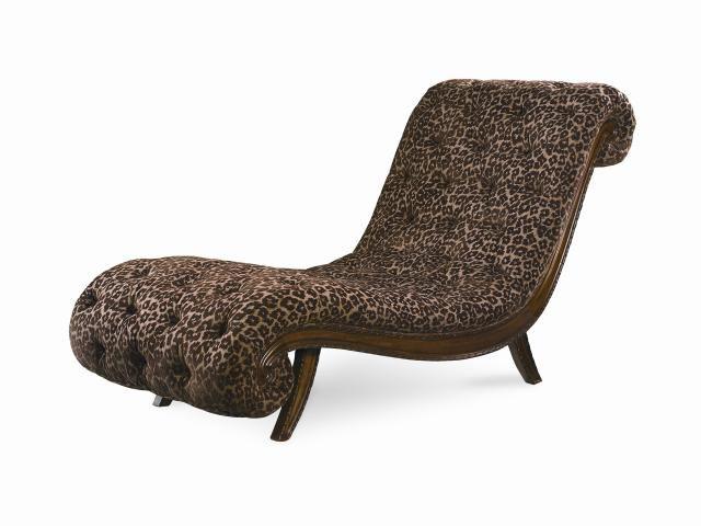 Pemberleigh Gracious Living Walnut Chaise