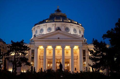 Romanian Athenaeum - Bucharest  http://www.globaltravelmate.com/uploads/images/bucharest_ateneul.jpg
