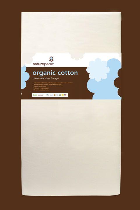 Naturepedic Organic Cotton Classic 252 Traditional crib mattress