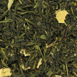 Cactus Menthe, frais et surprenant. Change du thé à la menthe tout simple.  Se boit très bien en version Thé Glacé.