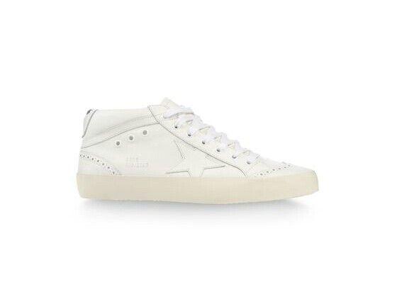 Golden Goose Deluxe Brand Mid Star - All White