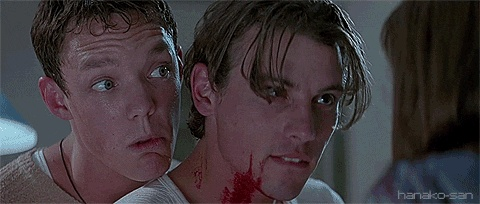 scream, film, horror, Skeet Ulrich, Matthew Lillard