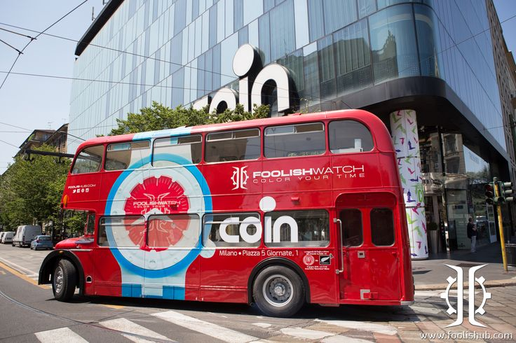 #foolishBUS in Milano just close to #COIN