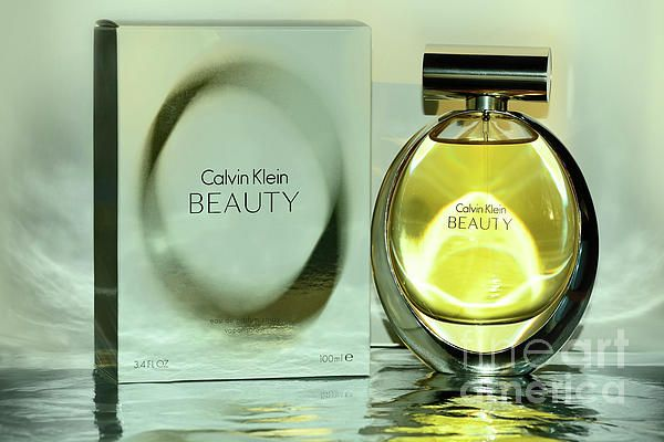 A beautiful bottle of Calvin Klein Eau de Parfum for my recent birthday.  #Calvin_Klein Beauty by #Kaye_Menner #Photography Quality Prints Cards Products with a money-back guarantee at: https://kaye-menner.pixels.com/featured/calvin-klein-beauty-by-kaye-menner-kaye-menner.html