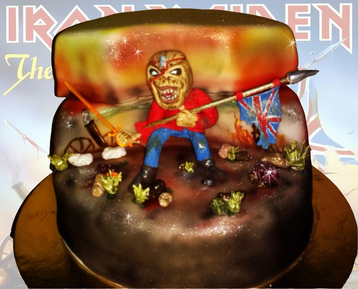 Eddie form Iron Maiden cake