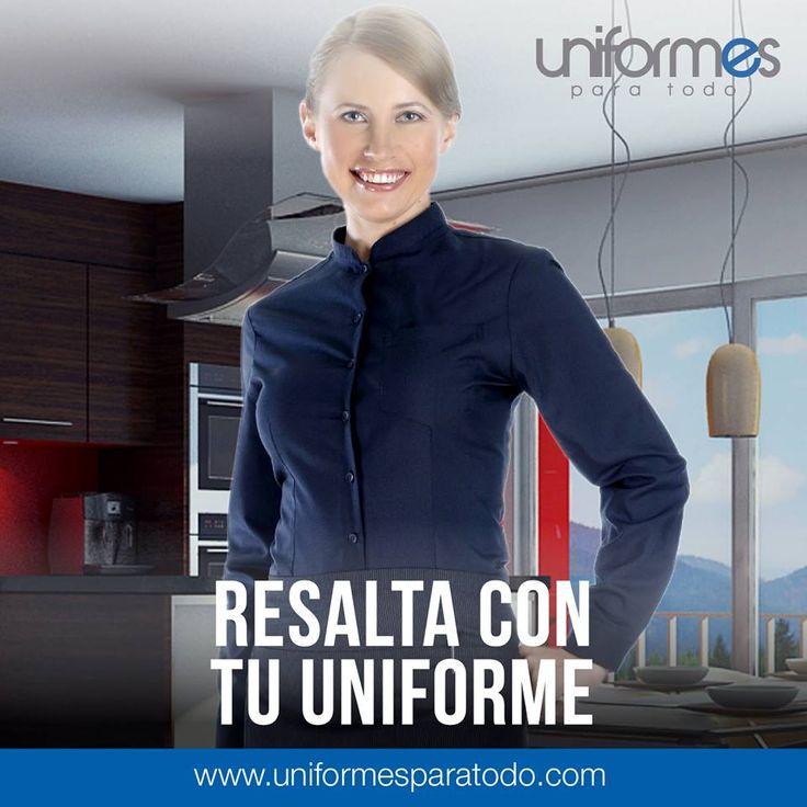 ¡Que todo sea un conjunto! Tu restaurante, tus platos, tu personal ¡Y tu uniforme! #UniformesParaTodo #Cocina #Restaurante #Profesional   www.uniformesparatodo.com
