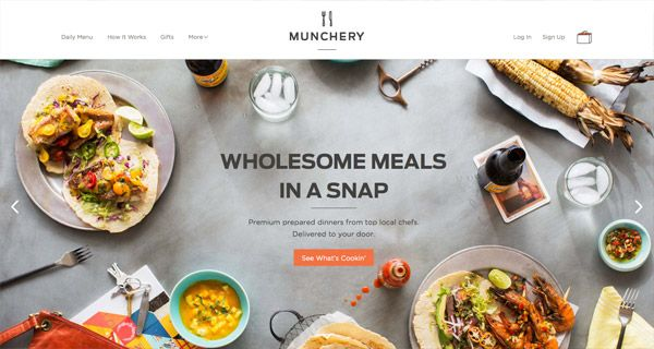 20 Tasty Website Designs from the Food Industry