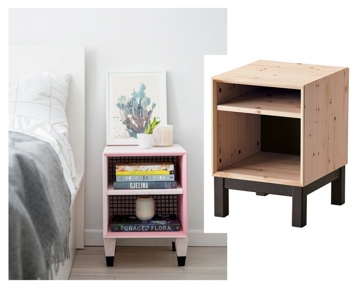 fresh and fun ikea hacks - End Tables Ikea